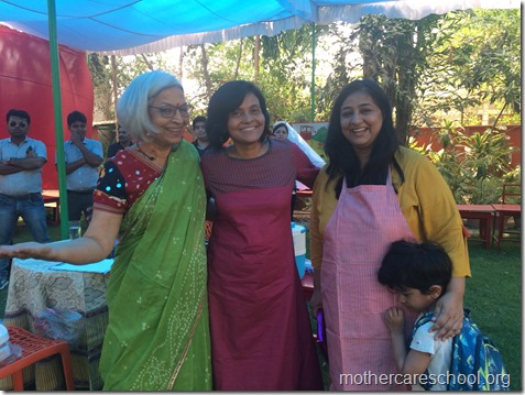ahaan's mom kanika gets 2nd prize for her kids hen dosa and ripe raw mango fruity