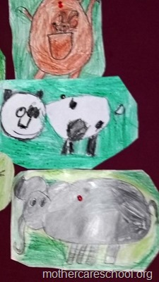 Art by nursery kids at Mothercare lucknow (4)