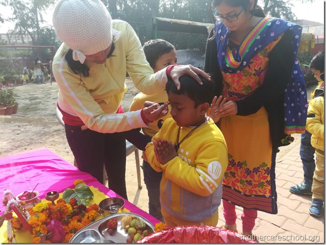 Basant Panchmi celebrations at Mothercare School Lucknow (9)