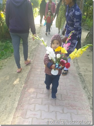 bringing flower to school (4)