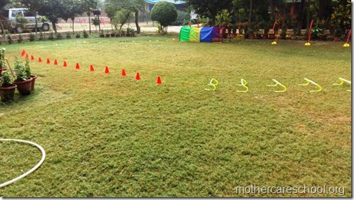 Children getting ready for Sports Day  (10)
