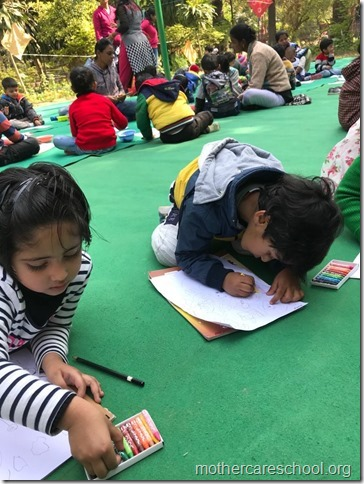 drawing competition at mothercare school lko (11)