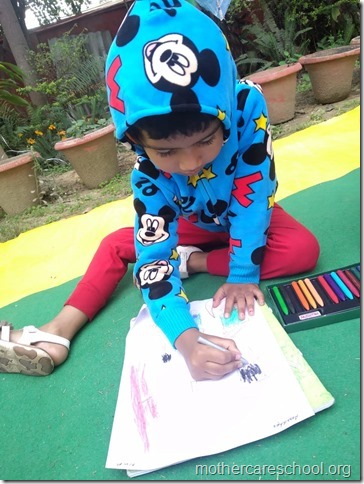 drawing competition at mothercare school lko (4)