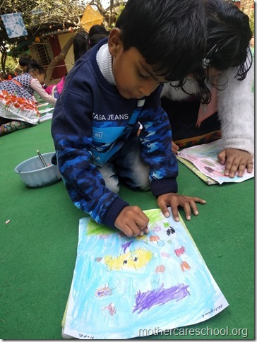 drawing competition at mothercare school lko (6)