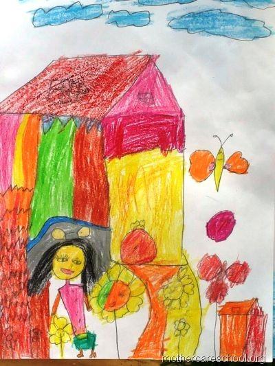 Common Worksheets » Nursery Drawing - Preschool and