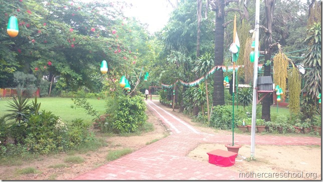 School All geared up for kids and Independence day celebration (2)