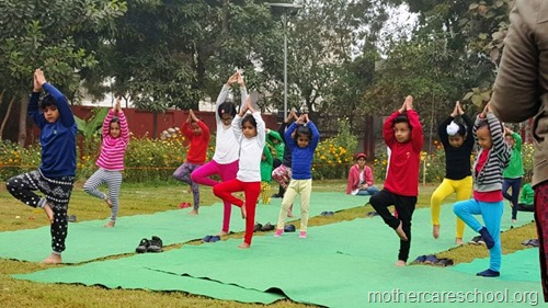 Sports and yoga day at Mothercare school, lucknow (1)