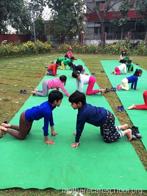 Sports and yoga day at Mothercare school, lucknow (13)