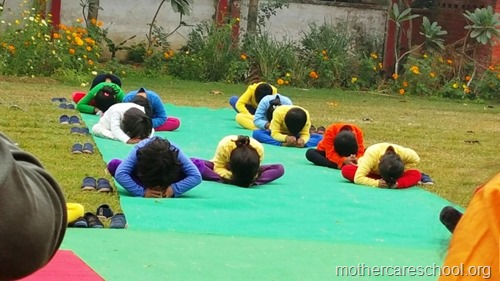 Sports and yoga day at Mothercare school, lucknow (2)
