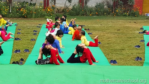 Sports and yoga day at Mothercare school, lucknow (5)