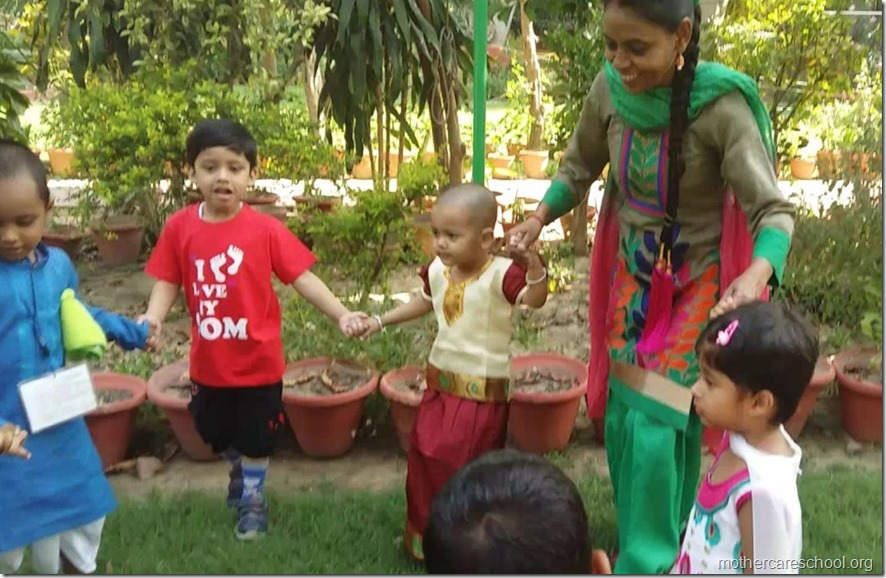 The new ones being initiated to the Mothercare way of learning (2)