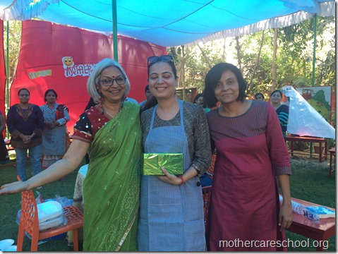 tisya's mom bhavna gets 3rd prize for innovative cone chaat